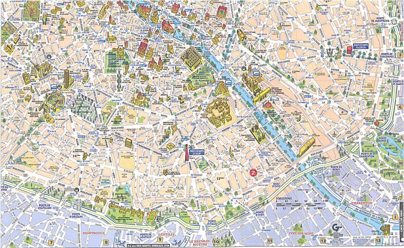 Parigi mappe for Parigi non turistica